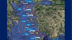 İşte Hulusi Akar'ın silahlandırıldı dediği 16 adadaki Yunan askeri varlığı