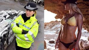 Polisliği bırakan Leanne Carr yarı çıplak oyun oynayarak paraya para demiyor
