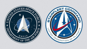 Trump, Uzay Gücü logosunu tanıttı: Uzay Yolu dizisinin yıldızı telif istedi