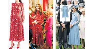 Kate Middleton'ın elbisesine kraliyet ayarı