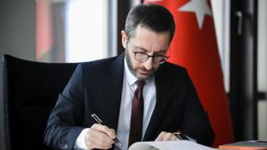 Fahrettin Altun'un Çince Kanal İstanbul paylaşımı dikkat çekti