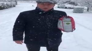Muharrem İnce'den kar altındaki sokak hayvanları için çağrı