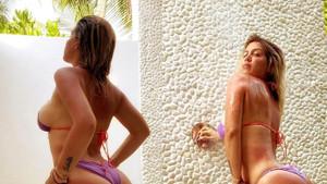 Mauro Icardi'nin eşi Wanda Nara duş pozuyla yürek hoplattı