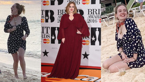 Adele 20 kilo verdi! Son halini görenler şoke oldu