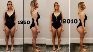 İdeal kadın vücudu nasıl değişti?