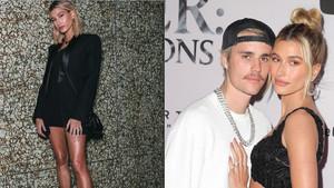 Hailey Bieber'den seksi blazer ceket