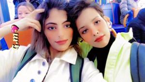 Suudi lezbiyen çift sevgilerini TV'den ilan ettiler