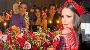 Merve Özbey'in kına gecesi sosyal medyayı salladı