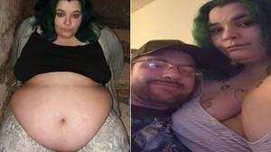 Obez kadın: Nişanlım beni besliyor