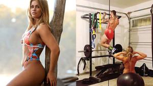 Paige VanZant eşiyle birlikte çıplak şekilde antrenman yaptı
