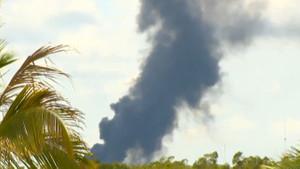 Survivor adasında orman yangını çıktı!