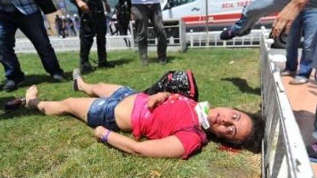 Mısırlı kadın turist gezi parkında kanlar içinde yığıldı!