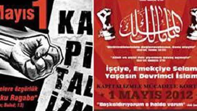 Abdestli kapitalizme karşı ayetli 1 Mayıs çağrısı!