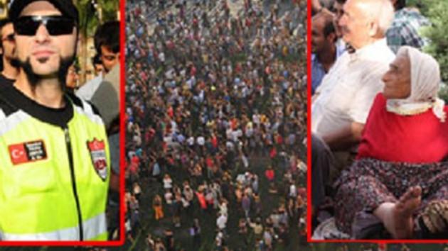 Tüm illerden Taksim'deki eylemlere destek!