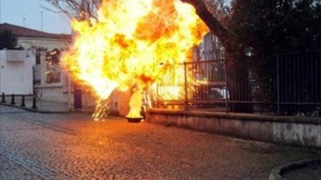 İhanet'in patlama sahnesi vatandaşları korkuttu!
