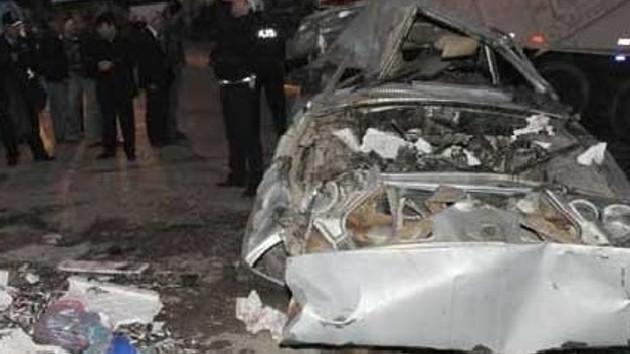 Kütahya'da trafik kazası! 8 ölü 3 yaralı!