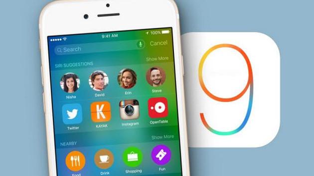 iOS 9 güncellemesi yayınlandı