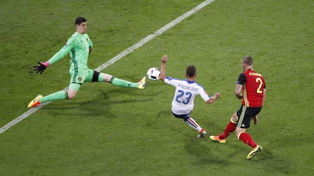 Belçika 0-2 İtalya Euro 2016'da müthiş maç