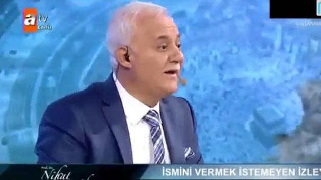 Nihat Hatipoğlu'na canlı yayında şok soru: Kadınların...