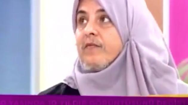 Zahide Yetiş'te sakallı kadın şoku! İzleyenleri şoke etti
