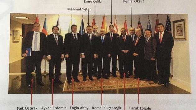 Kılıçdaroğlu Adil Öksüz'ün kardeşiyle aynı karede