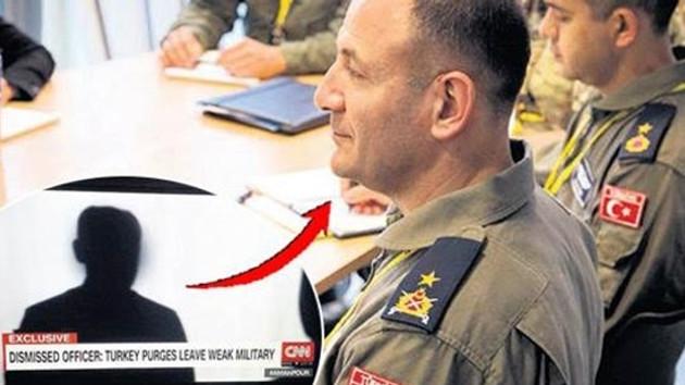 CNN International'a röportaj veren FETÖ'cü firari generalin kim olduğu ortaya çıktı