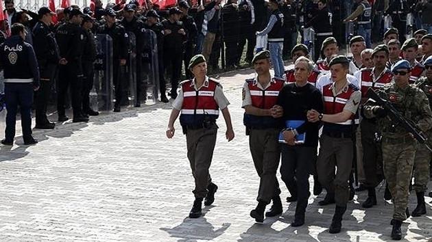 Mehmet Dişli ve Mehmet Partigöç avukatları olmadıkları gerekçesiyle savunma yapmadı