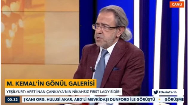 Atatürk hakkında iğrenç iddialar ortaya atan sözde tarih programına soruşturma açıldı