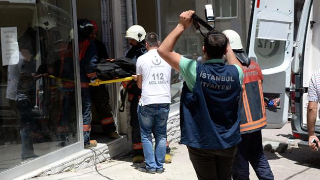 Esenyurt'ta binada göçük... bir işçi hayatını kaybetti