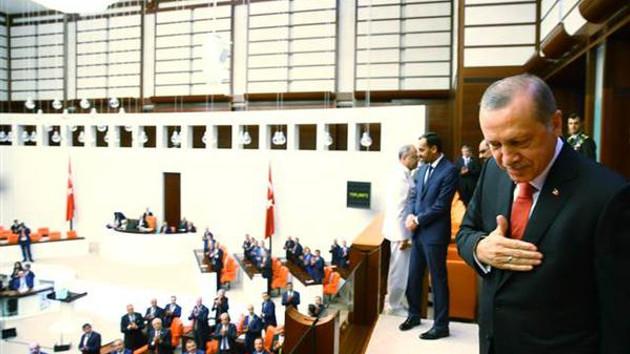 Liderler Meclis'teki 15 Temmuz toplantısında konuştu