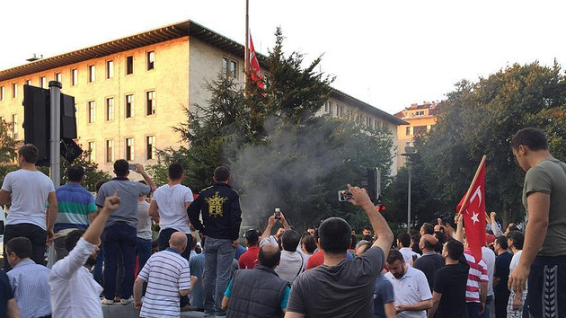 TRT binasını işgal davasında şok ifadeler: Telefonu gözüne sokup...