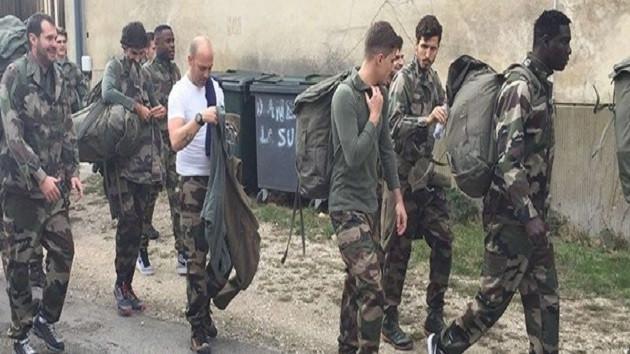 Salih Uçan komando kampında
