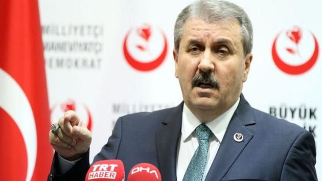 Mustafa Destici: Cumhur İttifakı'na sadığız ve Cumhur İttifakı'nın yanındayız