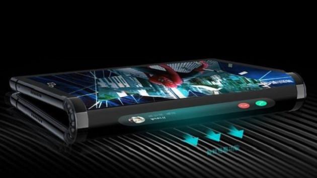 Çinli firma Royole dünyanın ilk ekranı katlanabilen akıllı telefonunu tanıttı