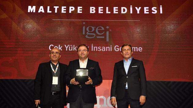 Maltepe'ye Çok Yüksek İnsani Gelişim ödülü