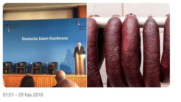İslam konferansında domuz eti ikram ettiler