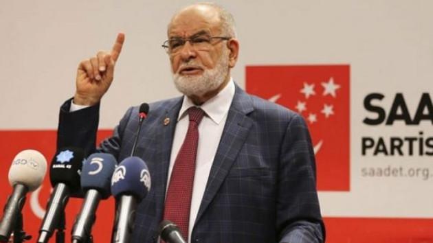 Saadet Partisi'ne kumpas kurulacak iddiası