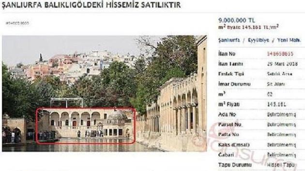 Şok eden ilan! Balıkgöl'ü 9 milyon liraya satılığa çıkardı