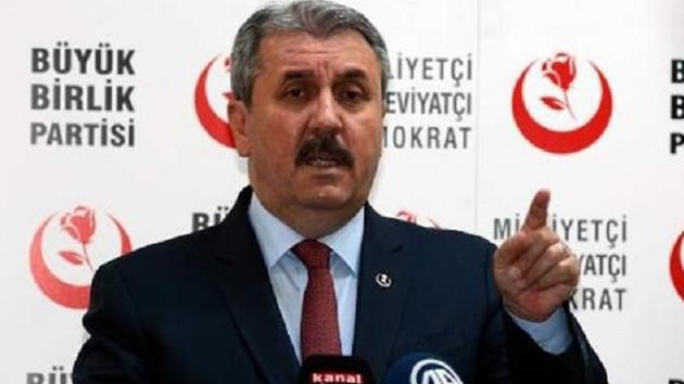 Destici: HDP barajı aşamazsa 400'ün üstünde vekil çıkarırız