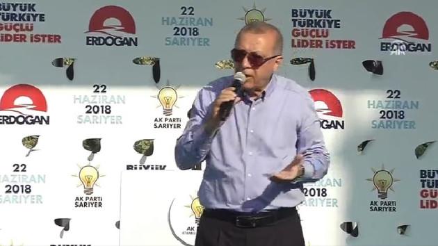 Erdoğan'dan taksicilere: Sizden bir ricam var