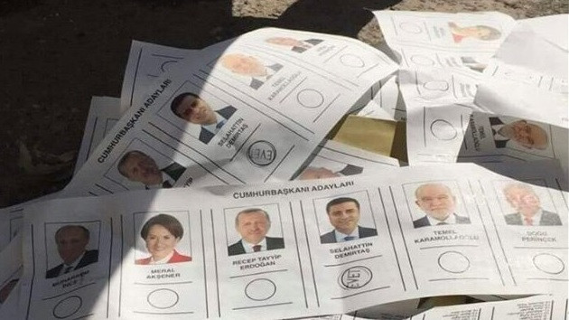 Muharrem İnce ve Selahattin Demirtaş oyları çöpten çıktı!