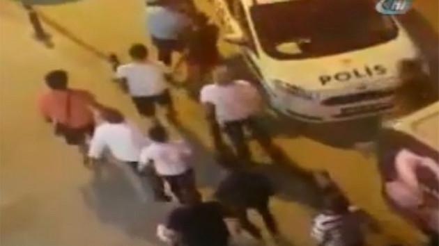 Maltepe'de çocuk kaçıran adamı mahalleli linç etti