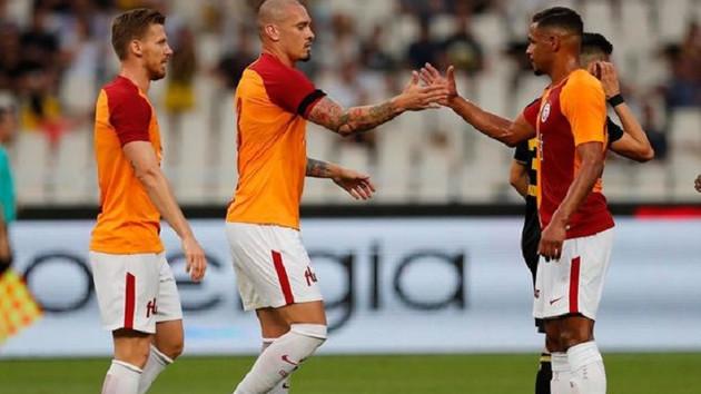Maicon'un golleri Galatasaray'a yetmedi