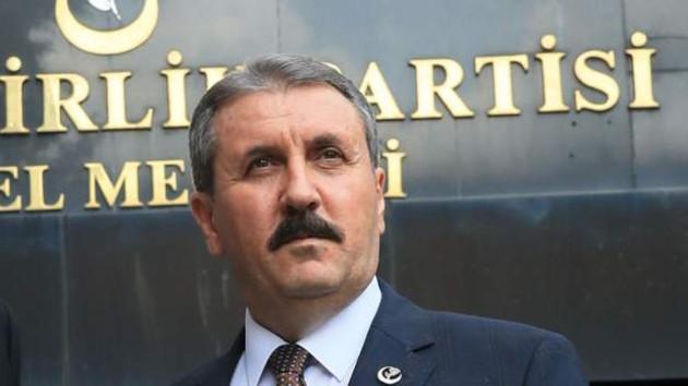 Mustafa Destici: Aynı gemide değiliz diyenler vatandaşlıktan çıkarılsın