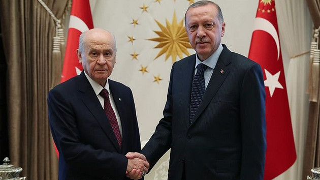 Devlet Bahçeli'den Recep Tayyip Erdoğan'a tebrik telefonu