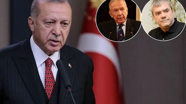 Erdoğan'dan Yılmaz Özdil'in harekat desteğine teşekkür