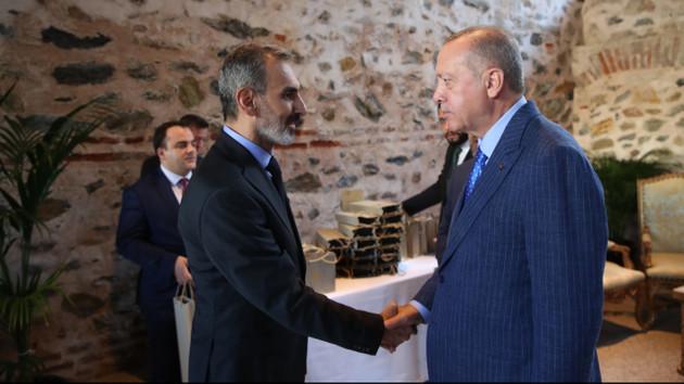 Erdoğan ve FOX Haber'in patronu Doğan Şentürk'ün dikkat çeken fotoğrafı