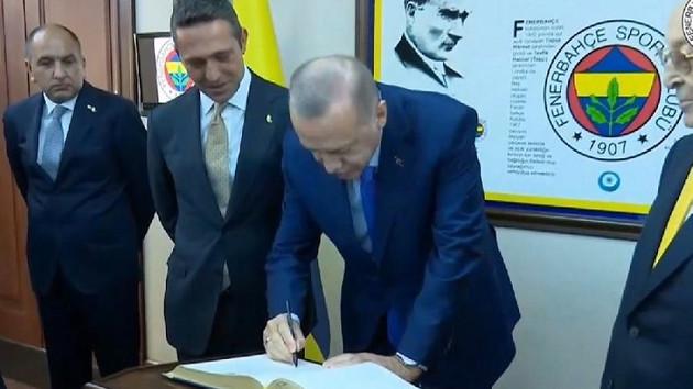 Erdoğan Fenerbahçe Yüksek Divan Kurulu Üyesi oldu