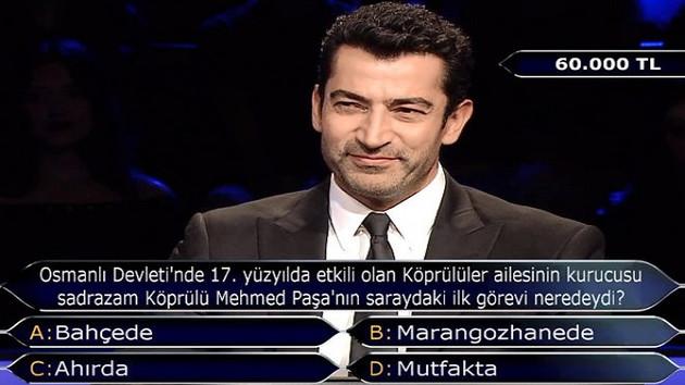 Sadrazam Köprülü Mehmet Paşa'nın saraydaki ilk görevi neredeydi?