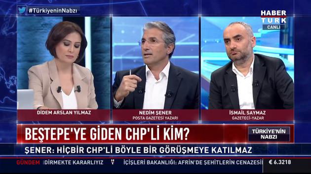 İsmail Saymaz'dan Didem Arslan'a gülümseten sözler: Ağzın bal yesin..